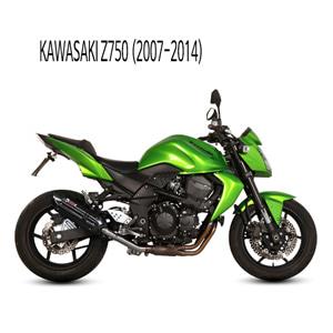 미브 Z750 (블랙 스틸) 수오노 슬립온 머플러 가와사키 (07-14)