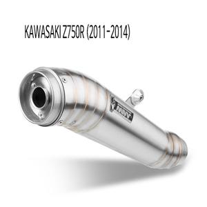 미브 Z750R (11-14) GHIBLI 스틸 슬립온 가와사키 머플러