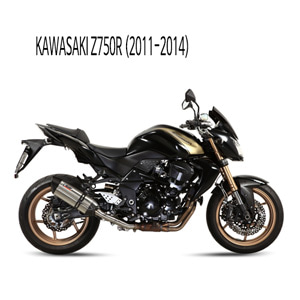 미브 Z750R (11-14) (STEEL) 수오노 슬립온 머플러 가와사키