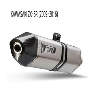 미브 ZX-6R (슬립온) 스피드엣지 스틸 머플러 가와사키 (09-16)