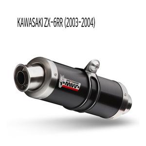 미브 ZX-6RR GP BLACK 스틸 슬립온 가와사키 머플러 (03-04)