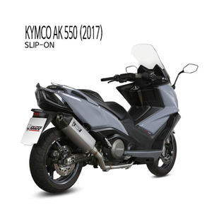 미브 머플러 KYMCO AK 550 (2017) SPEED EDGE STAINLESS STEEL 슬립온