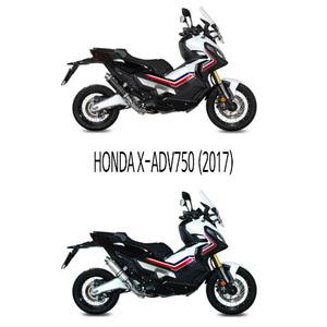 미브 머플러 HONDA X-ADV750 (2017) GP CARBONIO 슬립온