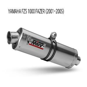 미브 FZ51000페이져 (01-05) 야마하 오벌 스틸 슬립온 머플러