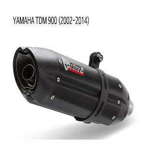 미브 TDM900 블랙 스틸 풀시스템 (02-14) 수오노 머플러 야마하