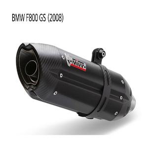 미브 F800GS 수오노 (2008) 블랙 스틸 슬립온 머플러 BMW