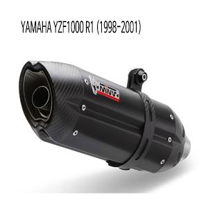 미브 YZF R1 98-01 BLACK 수오노 스틸 머플러 야마하 슬립온