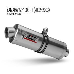 미브 YZF R1 (02-03) 오벌 스틸(standard) 슬립온 머플러 야마하