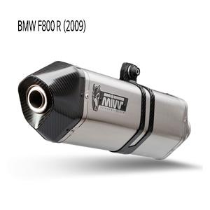 미브 F800R (2009) 스피드엣지 스틸 슬립온 머플러 BMW
