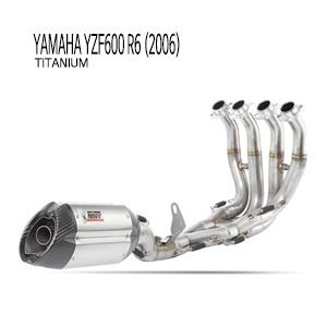 미브 YZF R6 풀시스템 (티탄) 야마하 (2006) 머플러