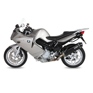 미브 F800S/ST (06-12) BMW 스피드엣지 블랙 스틸슬립온 머플러