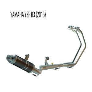 미브 YZF R3 GP BLACK 스틸 풀시스템 야마하 (2015) 머플러