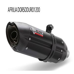 미브 도르소두로1200 수오노 블랙 (12-16) 스틸 슬립온 머플러 아프릴리아