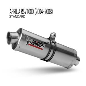 미브 RSV1000 STANDARD 슬립온 04-08 오벌 스틸 슬립온 머플러 아프릴리아
