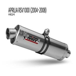 미브 RSV1000 HIGH 슬립온 (04-08) 오벌 스틸 머플러 아프릴리아
