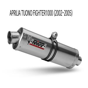 미브 투오노 파이터1000 오벌 스틸 (2002-2005) 슬립온 머플러 아프릴리아