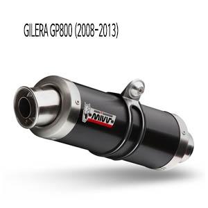 미브 GP800 GP 블랙 스틸 (2008-2013) 풀시스템 머플러 질레라