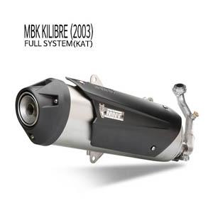 미브 KILIBRE 풀시스템(KAT) 머플러 MBK (2003) 어반 스틸