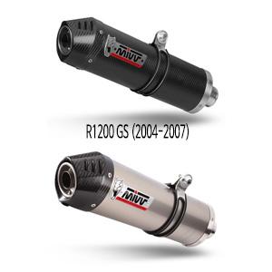 미브 R1200GS (2004-2007) 오벌 슬립온 머플러 BMW
