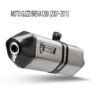 미브 브레바1200 머플러 모토 구찌 (2007-2011) 스피드엣지 스틸 슬립온