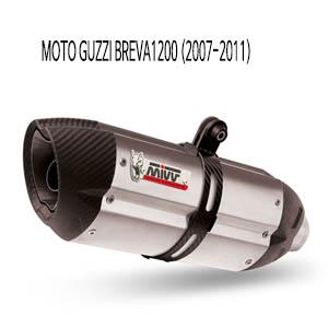 미브 브레바1200 (2007-2011) 수오노 스틸 슬립온 머플러 모토 구찌