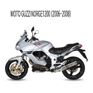 미브 NORGE1200 (2006-2008) 스피드엣지 스틸 슬립온 머플러 모토 구찌