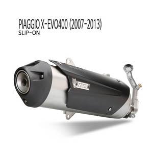 미브 X-EVO400 어반 스틸 슬립온 머플러 피아지오 (2007-2013)