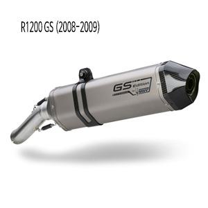 미브 R1200GS 카본엔드캡 (08-09) 스피드엣지 티탄 슬립온 머플러 BMW