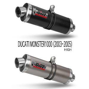 미브 몬스터1000 OVAL (high) 슬립온 머플러 두카티 (03-05)