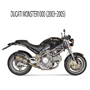 미브 몬스터1000 STEEL 수오노 슬립온 머플러 두카티 (03-05)