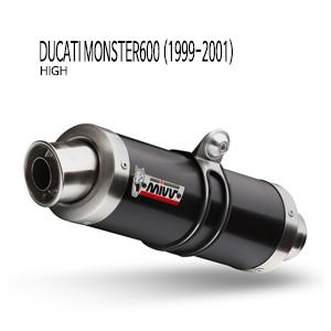미브 몬스터600 BLACK STEEL (high) GP 슬립온 머플러 두카티 (99-01)