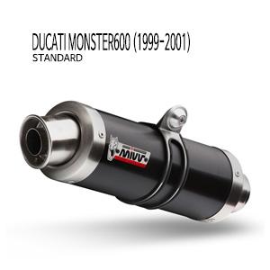 미브 몬스터600 블랙 스틸(standard) GP 슬립온 머플러 두카티 (99-01)