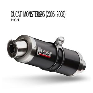 미브 몬스터695 GP BLACK STEEL (high) 슬립온 (06-08) 머플러 두카티