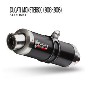미브 몬스터800 블랙 스틸(standard) GP 슬립온 (03-05)  머플러 두카티