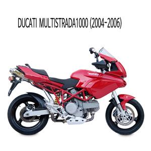 미브 멀티스트라다1000 엑스콘 스틸 슬립온 머플러 두카티 (04-06)