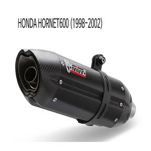 미브 호넷600 (1998-2002) 블랙 스틸 수오노 슬립온 머플러 혼다