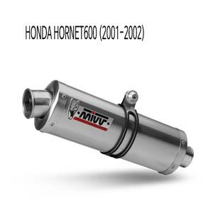 미브 호넷600 오벌 스틸 (2001-2002) 슬립온 머플러 혼다