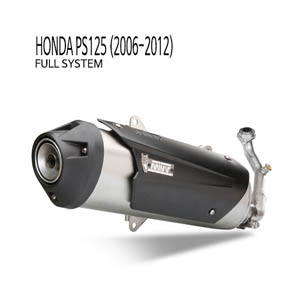 미브 PS125 어반 스틸 2006-2012 풀시스템 머플러 혼다