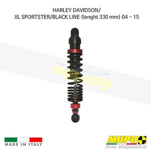 무포 레이싱 쇼바 HARLEY DAVIDSON 할리 스포스터 XL/BLACK LINE (lenght 330 mm) (04-15) Twin shock ST03 올린즈