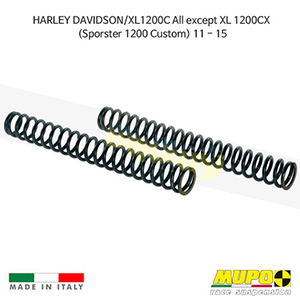 무포 레이싱 쇼바 HARLEY DAVIDSON 할리 스포스터 XL1200C All except XL 1200CX (Sporster 1200 Custom) (11-15) Spring fork kit 올린즈