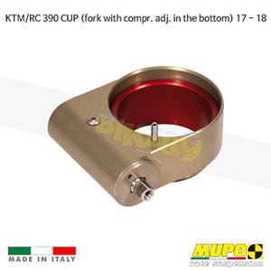 무포 레이싱 쇼바 KTM RC390 CUP (fork with compr. adj. in the bottom) (17-18) Hydraulic spring preload Mono 올린즈