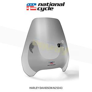 네셔널싸이클 할리데이비슨 HARLEY DAVIDSON 소프테일 디플렉터 스크린 퀵셋 1인치(25mm) 핸들용 윈드스크린 - 스모크 N25043