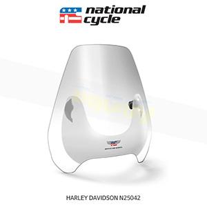 네셔널싸이클 할리데이비슨 HARLEY DAVIDSON 소프테일 디플렉터 스크린 퀵셋 1인치(25mm) 핸들용 윈드스크린 - 클리어 N25042