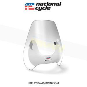 네셔널싸이클 할리데이비슨 HARLEY DAVIDSON 소프테일 디플렉터 스크린 퀵셋 1+1/4인치(32mm) 핸들용 윈드스크린 - 클리어 N25044