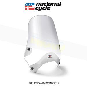 네셔널싸이클 할리데이비슨 HARLEY DAVIDSON 소프테일 스트리트쉴드 퀵셋 1인치(25mm) 핸들용 윈드스크린 - 클리어 N25012