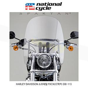 네셔널싸이클 할리데이비슨 HARLEY DAVIDSON 소프테일 FXCW/C락커 (08-11) 스파르탄 윈드쉴드 C세트 윈드스크린 N21201