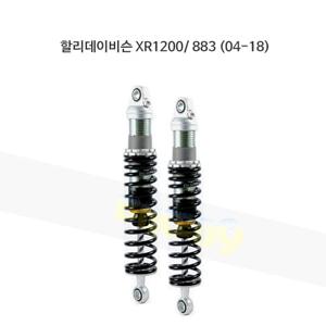 올린즈 쇼바 페어 BLACK SHOCKS S36E/ 할리데이비슨 XR1200/ 883 (04-18) HD145
