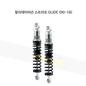 올린즈 쇼바 페어 BLACK SHOCKS S36E/ 할리데이비슨 스트리트 GLIDE (90-18) HD039