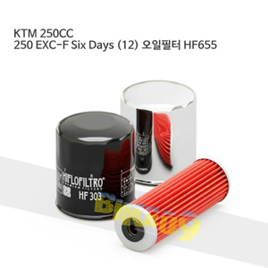 KTM 250CC 250 EXC-F Six Days (12) 오일필터 HF655