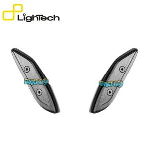 LIGHTECH 페어 OF ERGAL 백 미러 캡 - 야마하 티맥스 530 SX (17-19) 오토바이 부품 튜닝 파츠 SPEY08NER